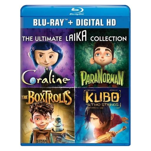 Ultimate laika collection (blu ray w/digital hd) (4discs) 1663168