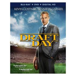 Draft day (blu ray/dvd w/digital hd) (ws/eng/eng sub/span sub/5.1 dol dig) BR45879