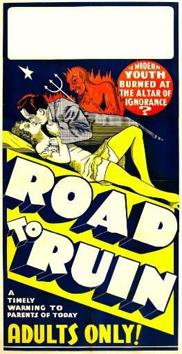 The Road To Ruin Poster Art 1934. Movie Poster Masterprint