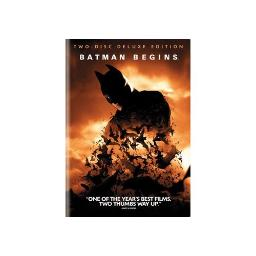 BATMAN BEGINS (DVD/SPECIAL EDITION GIFTSET/WS/2 DISC) 12569766778