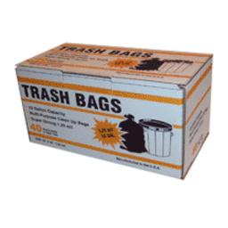 Primrose Plastics 33400 Clean Up Bag W/twist Ties, 33 Gallon
