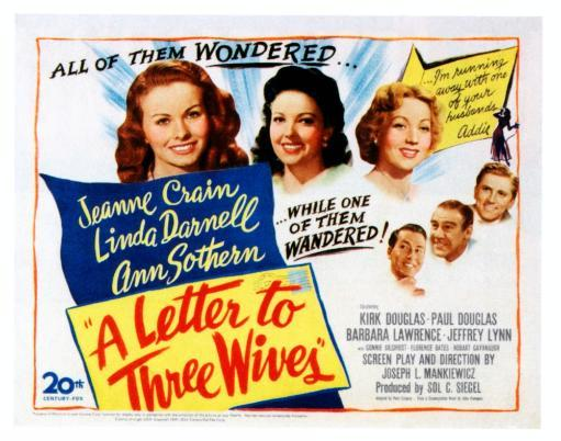 A Letter To Three Wives Movie Poster Masterprint 25RQY6NGVMXNUMY6