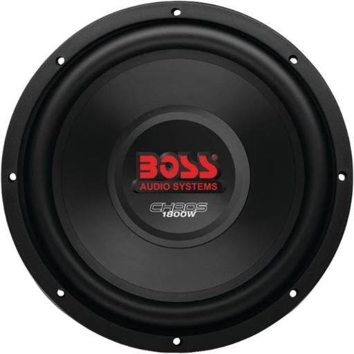Boss Audio CH12DVC Chaos Series Dual Voice-Coil Subwoofer 12 in.