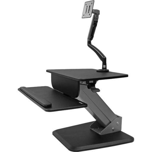 STARTECH.COM BNDSTSSLIM SIT-TO-STAND WORKSTATION WITH ARTICULATING MONITOR ARM