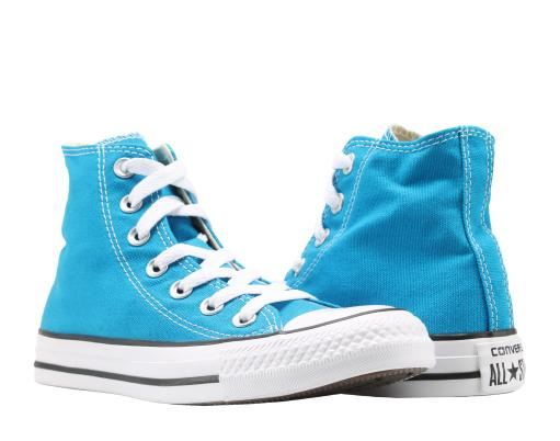 4f391a335c1c45 Converse Chuck Taylor All Star Cyan Space Blue High Top Sneakers 149511F