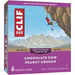 Clif Energy Bars Chocolate Chip Peanut Crunch
