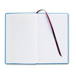 Adams Business Forms ARB712CR1 Record Ledger Book- Blue Cloth Cover- 150 Pages- 7 1/2 x 12