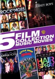 5 film collection-music movies collection (dvd/5 disc) D618778D