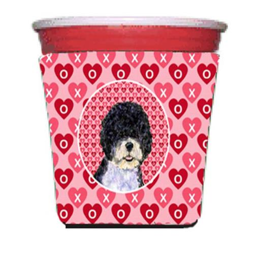 Portuguese Water Dog Red Solo Cup bottle sleeve Hugger - 16 To 22 oz. PDVCVWEJFHYRCXF2