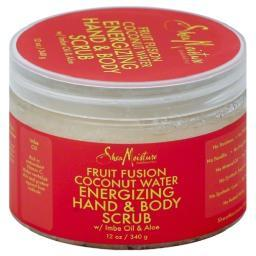 Shea Moisture Fruit Fusion Coconut Water Energizing Hand & Body Scrub