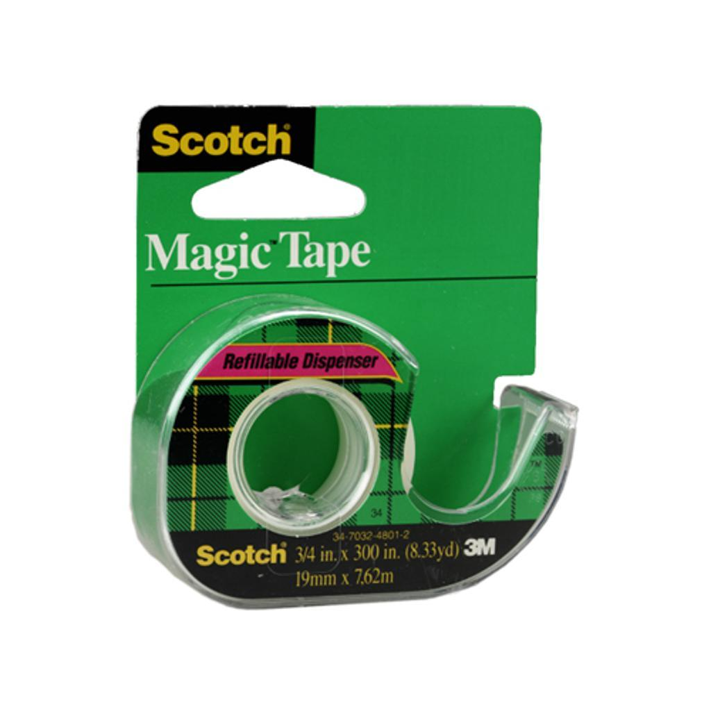 3m 105 scotch magic tape 3/4 inch x 300 inches