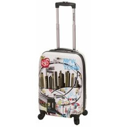Rockland F2061-NEWYORK 20 in. POLYCARBONATE CARRY ON - NEW YORK