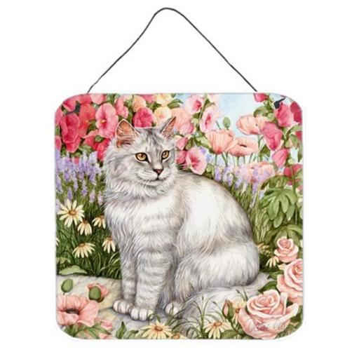 Carolines Treasures CDCO0244DS66 Cats Just Looking in the Fish Bowl Wall or Door Hanging Prints