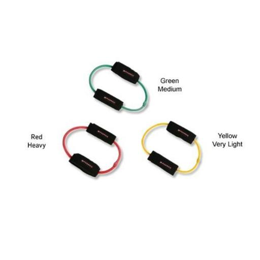 LEG CORD RPC-025 Leg Exercise Bands with Travel Bag - 3 Pack