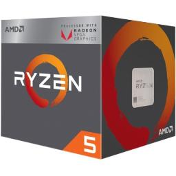 Amd yd2400c5fbbox ryzen 5 2400g with wraith