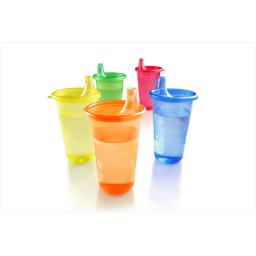 Nuby Reusable Cups With Lids