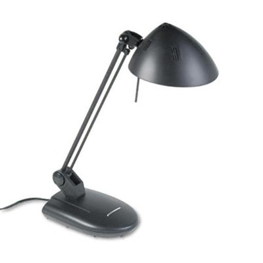 Ledu L281MB High-Output Three-Level Halogen Desk Lamp 17 Reach Matte Black