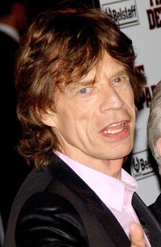 Mick Jagger At Arrivals For The Departed Premiere, Ziegfeld Theatre, New York, Ny, September 26, 2006. Photo By Kristin CallahanEverett Collection.