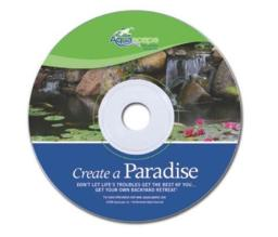 Aquascapepro 55004 New Create A Paradise Dvd - 3 Pack