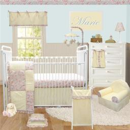 Cotton Tale Designs MA7S Marie Crib Bedding Set - 7 Piece