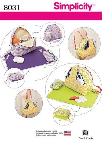 Simplicity Convertible Diaper Bags And Changing Pads-One Size ZUBLB7K0VGWYHDHK
