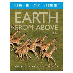 Earth from above-life (blu ray/dvd combo-w/digital copy)      nla BRQBD4009