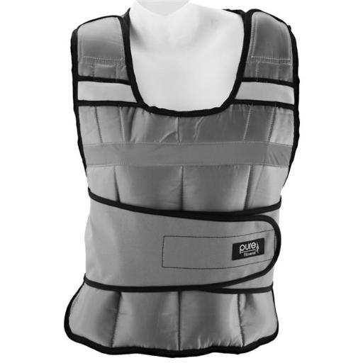Pure Global Brands 8635WV Fitness Adjustable Weighted Vest, 20 lbs.