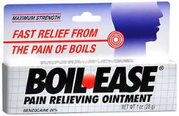Boil-ease Pain Relieving Ointment Maximum Strength - 1 Oz, Pack Of 4
