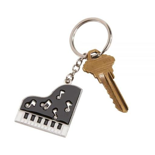 Creative Gifts International 002407 ano Key Chain with Crystals, 3 in.