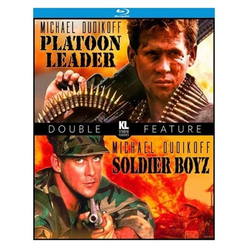 Platoon leader/soldier boyz (blu-ray/1988/1995/ws 1.85/double feature) GB0RZYBSSCHCCC1X