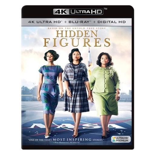 Hidden figures (blu-ray/4k-uhd/digital hd) 3JPAN1WIJOSY6JGC