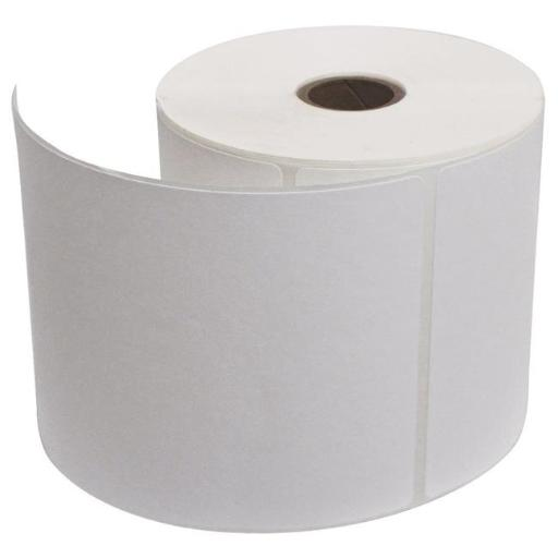 4 x 4 in. Portable Direct Thermal Labels, White - 36 Rolls