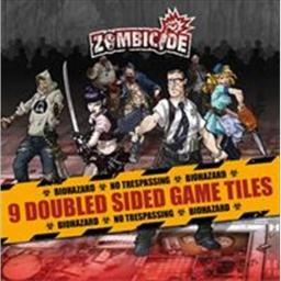 Cool Mini Or Not GUG0005 Zombicide - Season 1 Tile Pack