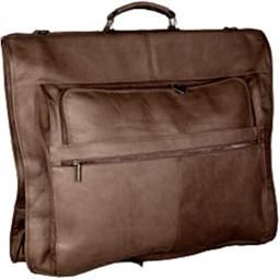 David King & Co 204C 42 in. Garment Bag Deluxe- Cafe