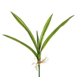 Vickerman FA173001 Real Touch Yucca Leaves X5-Green Greenery Stem - Pack of 3