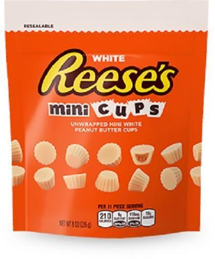 Reese's Peanut Butter Cups Minis White Chocolate DSWYLRSYCFIAPNIZ