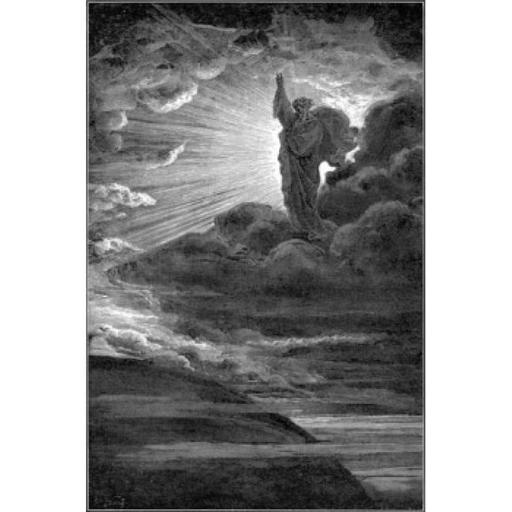Posterazzi SAL9001151 On the Beginning Gustave Dore 1832-1883 French Engraving Poster Print - 18 x 24 in.