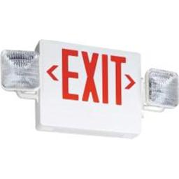 Acuity Brands Lighting Sx-0460782 Contractor Select Economy Grade Exit-Emergency Light Red
