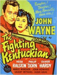 The Fighting Kentuckian Movie Poster (11 x 17) MOVCD1954