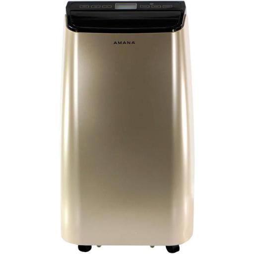 12000 BTU Portable Air Conditioner with Remote Control, Gold & Black