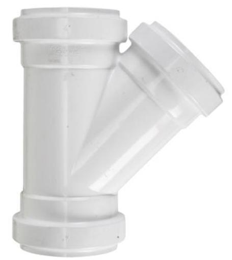 Plastic Trends G304 Pvc Gasketed Sdr Sewer Wye 4