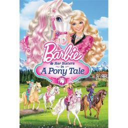 BARBIE & HER SISTERS IN A PONY TALE (DVD) 25192169038