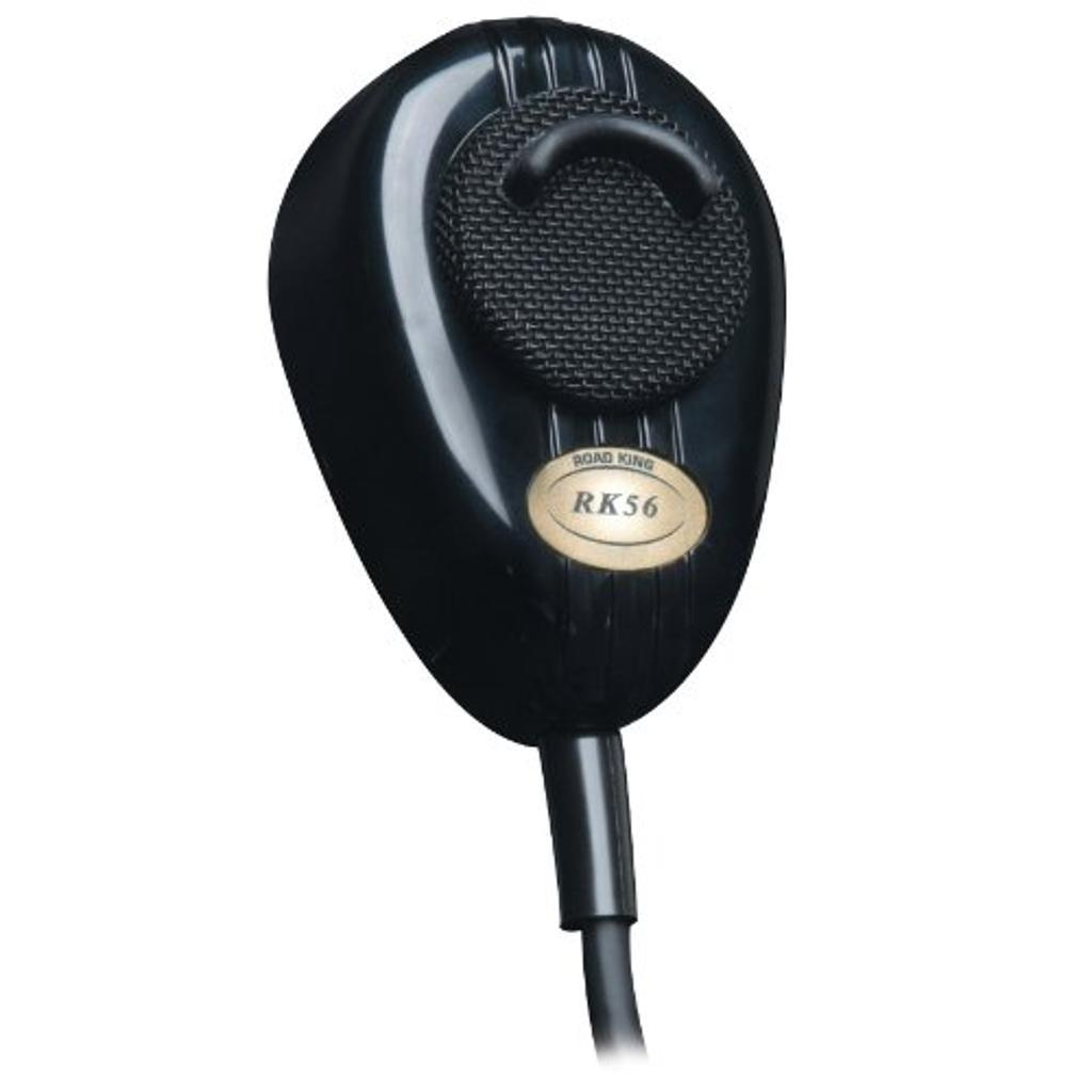 RK564PCH ROADKING CB Mic Chrome,Noise Cancelling,4 Pin