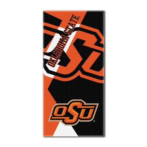 The Northwest 1COL-62200-0013-RET COL 622 Oklahoma State Puzzle Beach Towel J2PRLBP3HBEYDYPQ