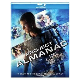 Project almanac (blu-ray)-nla BRP583056