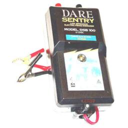 Dare Products DSB 100 Sentry Series Electric Fence Energizer, 0.25 Joule Output