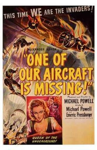 One of Our Aircraft is Missing Movie Poster (11 x 17) XSFAVWXWILPMVACM