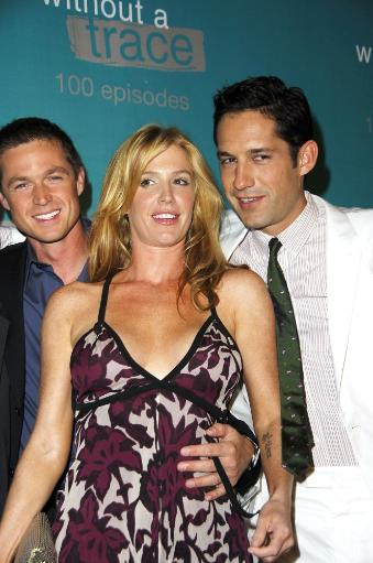 Eric Close, Poppy Montgomery, Enrique Murciano At Arrivals For Without A Trace Celebrates 100Th Episode, The Cabana Club At Sterling Steakhouse.