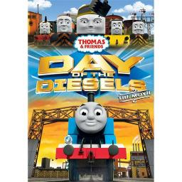 THOMAS & FRIENDS-DAY OF THE DIESELS (DVD) (WS/ENG/FREN/SPAN/2.0) 884487110564