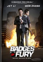 Badges of fury (dvd/mandarin/english dub & sub) D01442D